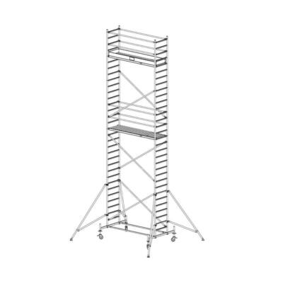 Krause Stabilo Gurulóállvány 10-es Sorozat 2,50x0,75 Munkamagasság: 9,40 m