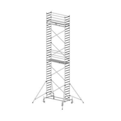 Krause Stabilo Gurulóállvány 10-es Sorozat 2,50x0,75 Munkamagasság: 10,40 m