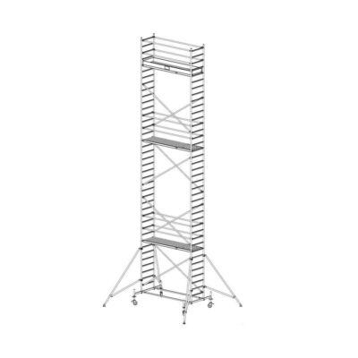 Krause Stabilo Gurulóállvány 10-es Sorozat 2,50x0,75 Munkamagasság: 11,40 m