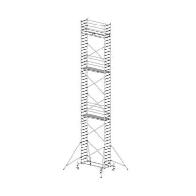 Krause Stabilo Gurulóállvány 10-es Sorozat 2,50x0,75 Munkamagasság: 13,40 m