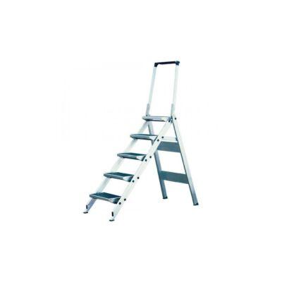 Krause Stabilo Összecsukható Lépcső Lehajtható Kapaszkodókerettel 4 Fokos