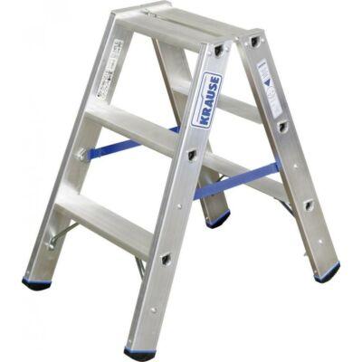 Krause Stabilo Két Oldalon Járható Lépcsőfokos Állólétra 2X3 Fokos