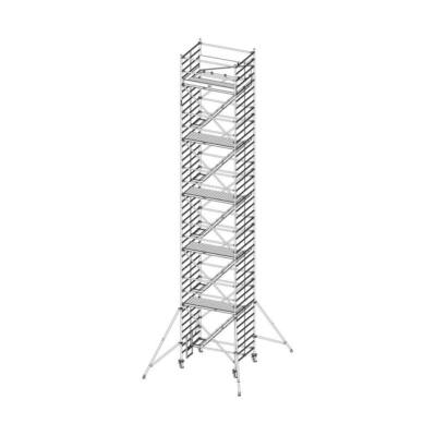 Krause Stabilo Gurulóállvány 5500-as Sorozat 2,00x1,5 Lépcsős MM: 12,50 m