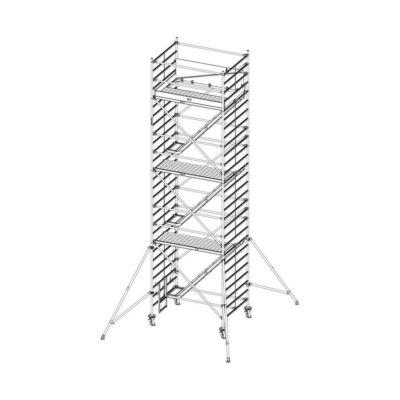 Krause Stabilo Gurulóállvány 5500-as Sorozat 2,00x1,5 Lépcsős MM: 8,50 m