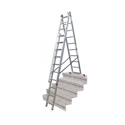 Krause Corda Sokcélú Létra 3x10 Fokos Lépcsőfunkcióval
