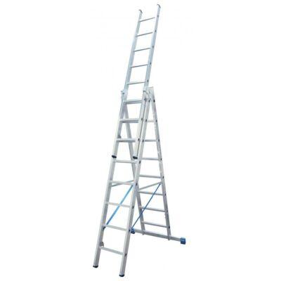 Krause Stabilo Létrafokos Sokcélú Létra 3X9 Fokos Lépcsőfunkcióval