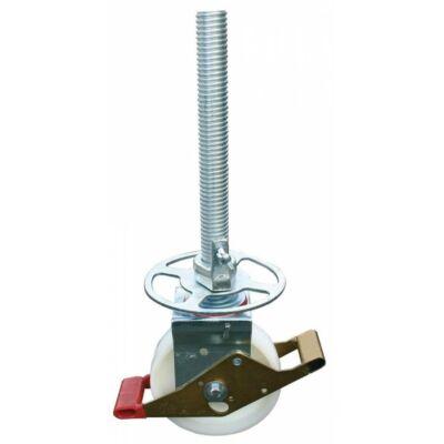 Krause Stabilo Gurulóállványhoz kerék, állítható magasságú Ø 200 mm